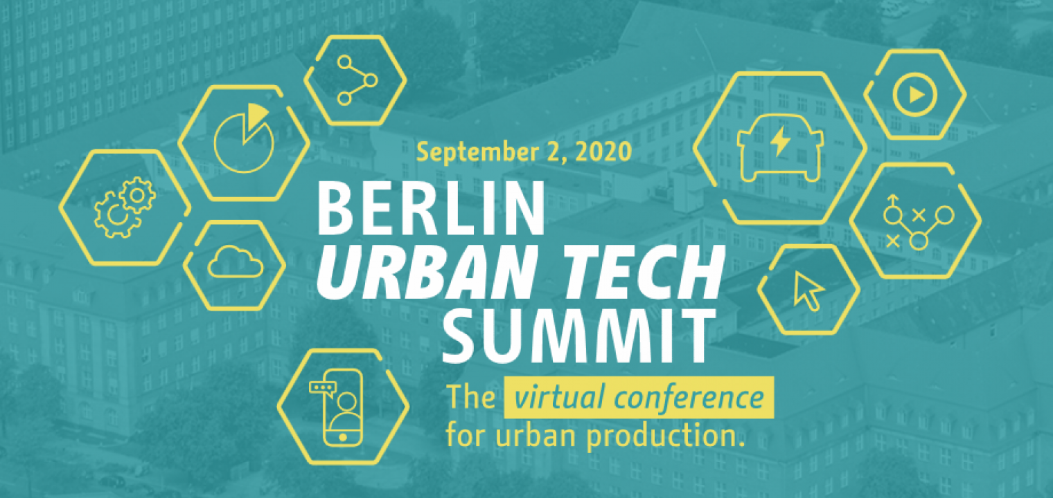 Key Visual for the Urban Tech Summit