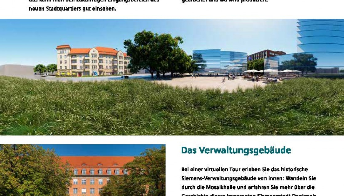 Siemensstadt UpDate December 2020, newsletter page 5